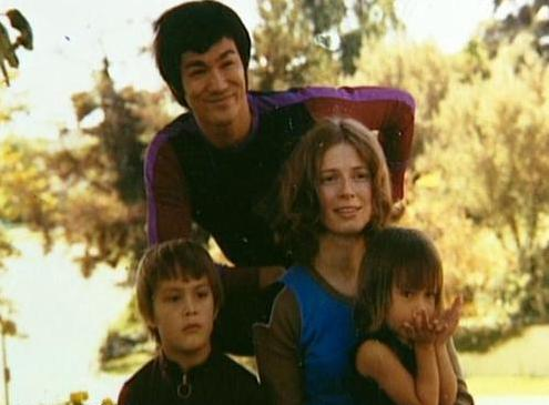 Bruce, Brandon, Linda and Shannon Lee