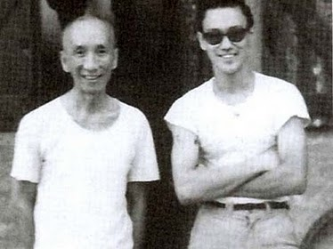 Bruce was introduced to Master Yip Man