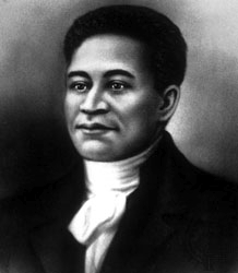 Crispus Attucks, an escaped slave, was among the five victims in the Boston Massacre