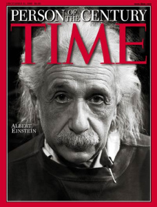 Albert Einstein Named Person of the Century on the cover of TIME Magazine