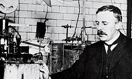 British physicist Ernest Rutherford