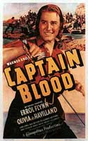 "Errol Flynn in ""Captain Blood"""
