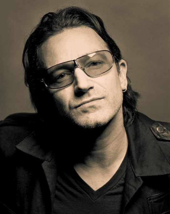 Bono was born Paul David Hewson in Ballymun, Dublin on May 10th 1960