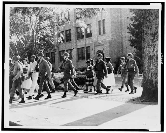 Desegregation at Little Rock: Little Rock Central High School