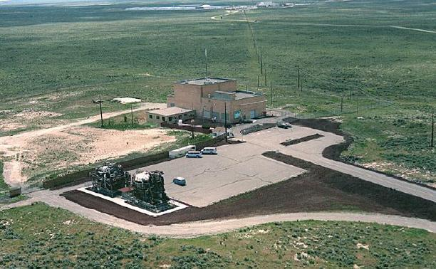 Experimental Breeder Reactor I at a site in Idaho