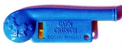 Cap'n Crunch Bosun Whistle