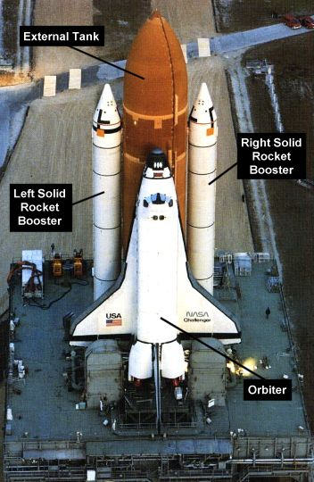 space shuttle challenger height - photo #11