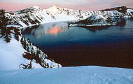 Image of Crater Lake from NPS