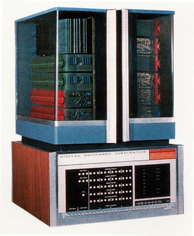 Digital Equipment Corporation releases its PDP-8 computer, the first mass-produced minicomputer.