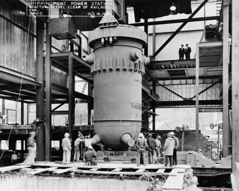 The first commercial electricity-generating plant powered by nuclear energy was located in Shippingport, Pennsylvania