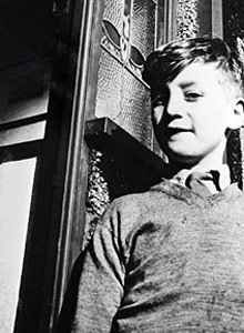 John Lennon as a youngster