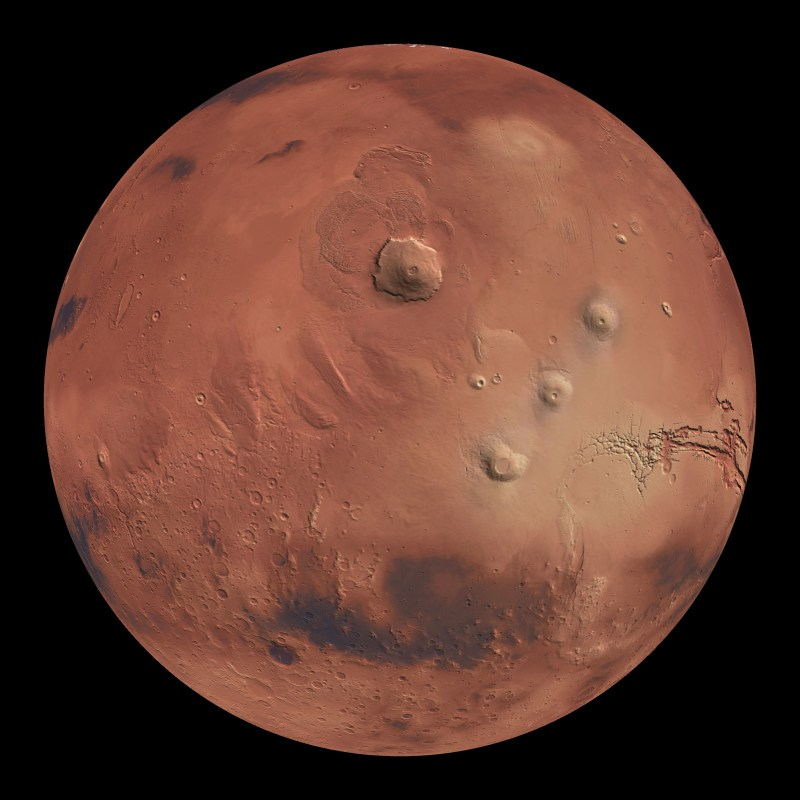 printable map of planet mars - photo #44