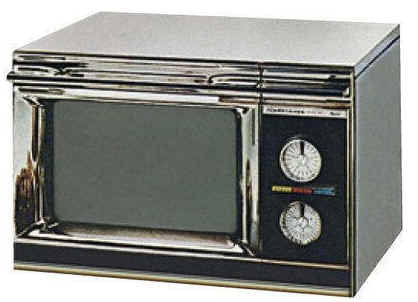 1967, Amana, a division of Raytheon, introduced its domestic Radarange microwave oven