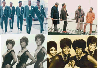 The Temptations The Four Tops Martha Reeves and The Vandelllas The Marveletts