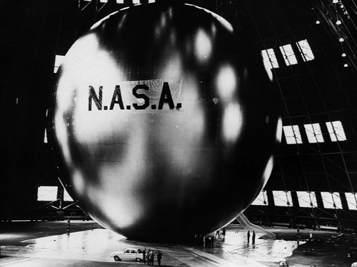 The first communication satellite, Echo