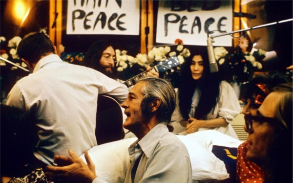 """Give Peace a Chance"" was recorded on 1 June 1969 in Room 1742 at the Queen Elizabeth Hotel in Montreal, Canada"