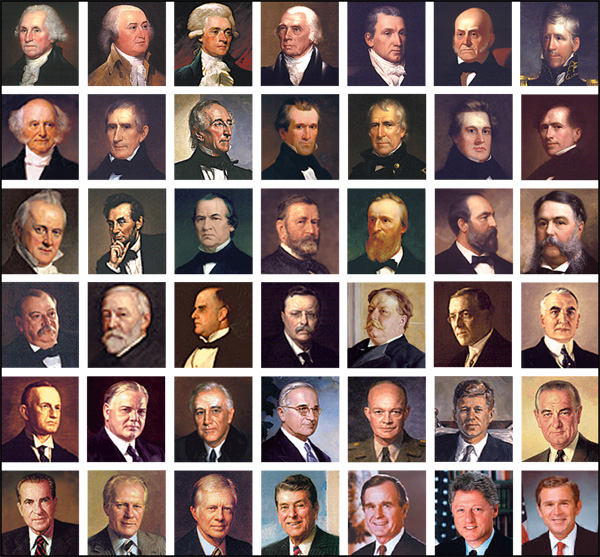 the history of the 42 american presidents Table showing all the presidents of the usa presidents of the united states no name term vice-president party 42 william j clinton.