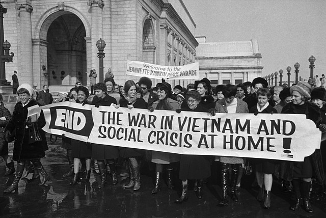 united states anti vietnam protest in 1960 The vietnam war and the anti-war protests in the 1960s to send troops to south vietnam to help the united states defend south vietnam against the communist.