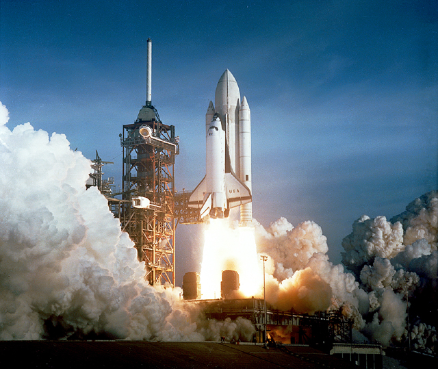 space shuttle first launch - photo #3
