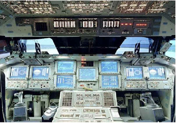 space shuttle original cockpit - photo #14