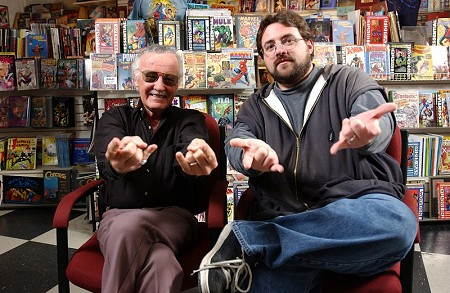 "Stan Lee and Kevin Smith ""Webslinging"""
