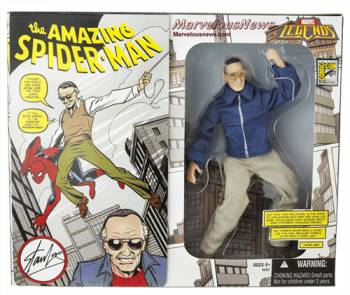 Stan Lee Super Hero Action Figure