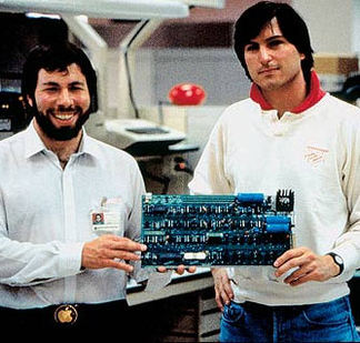 pple Computer founded by Steve Wozniak and Steve Jobs introduced the Apple II