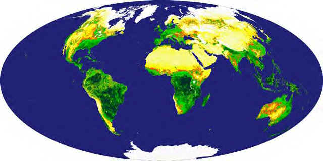 earth NASA TERRA Satellite Global Vegetation Image
