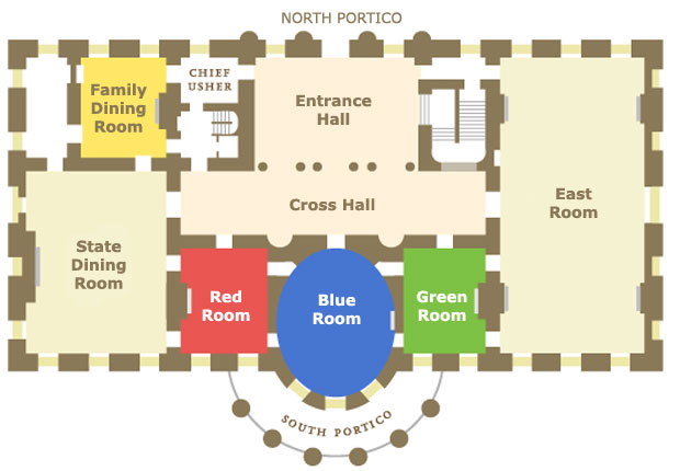 Red Room White House Blueprints